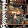 กระดาษสาพิมพ์ลาย สำหรับทำงาน เดคูพาจ Decoupage แนวภาำพ แมว 3ตัว 3 ลาย นอนกันสบาย บนชั้นหนังสือ ในห้องสมุด (ปลาดาวดีไซน์)