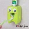GK209 ที่แขวนบีบยาสีฟัน รูปฟัน น่ารัก แบบกาวสูญญากาศ ขนาด สูง 10.5 x หนา 5.5 x กว้าง 6.5 cm.