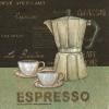 แนวภาพของกิน กาและแก้วกาแฟ Espresso เป็นกระดาษ 4 บล๊อค กระดาษแนพคินสำหรับทำงาน เดคูพาจ Decoupage Paper Napkins เป็นภาพ 4 บล๊อค ขนาด 25X25 ซม