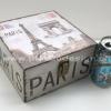 กล่องเก็บของทรงจตุรัส ขนาดเล็ก ภาพวินเทจ Paris ประตูชัย