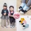 ฺฺฺฺBS011 ถุงเท้าเด็ก ข้อสั้น ลายขวาง ปลายเท้าลายมิกกี้ สวย น่ารัก ใส่ได้ทั้งเด็กผู้ชาย และเด็กผู้หญิง