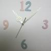 ชุดตัวเครื่องนาฬิกาญื่ปุนเดินเรียบ เข็มลายโมเดิน ขนาดเล็ก เข็มสั้น-เข็มยาวสีเหลืองเงิน เข็มวินาทีสีทอง อุปกรณ์ DIY