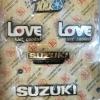 โลโก้รอบคันครบชุด Suzuki RC100 Love งานใหม่
