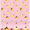 กระดาษสาพิมพ์ลาย rice paper เป็น กระดาษสา สำหรับทำงาน เดคูพาจ Decoupage แนวภาพ มินิคัพเค๊ก หลากหลายสีสันบนพื้นสีชมพู อย่างหวานจุงเบย (ปลาดาวดีไซน์)