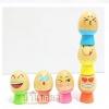 ของเล่นไม้ ไข่บอกอารมณ์ บล็อคไม้เรียงซ้อนเสริมพัฒนาการฝึกสมดุล การทรงตัว