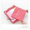 GB084 กระเป๋าผ้าตาข่าย(Size M) จัดระเบียบกระเป๋าเดินทาง ใส่เสื้อผ้า ของใช้ต่างๆ สำหรับพกพาเดินทางท่องเที่ยว