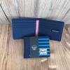 กระเป๋าแฟชั่นสตางค์คละสี -ลายสีฟ้า
