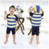 ชุดว่ายน้ำเด็กชาย VIVO-BINIYAนน่ารัก พร้อมหมวก