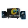 ลำโพง Music D.J. Bluetooth (SP-21) Blue