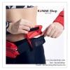GB193 กระเป๋าใส่ของจุกจิกทั่วไป ขนาดเล็ก ใช้เสริมกับกระเป๋าคาดเอวออกกำลังกาย ขนาด กว้าง 12 x สูง 7 cm. มี 3 สี ฝาสีแดง , ฝาสีน้ำเงิน , ฝาสีดำ