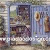 กระดาษเดคูพาจพิมพ์ลาย สำหรับทำงาน เดคูพาจ Decoupage งานฝีมือ งาน Handmade แนวภาพ บ้านและสวน ห้องเก็บอุปกรณ์เพาะชำดอกไม้ สวนสวย (ปลาดาว ดีไซน์)