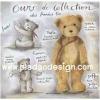 กระดาษสาพิมพ์ลาย rice paper เป็น กระดาษสา สำหรับทำงาน เดคูพาจ Decoupage แนวภาพ หมีน้อย เท็ดดี้ แบร์ teddy bear คอลเล็คชั่นใหม่ ชวนออกกำลังกายกัน บิดซ้าย เอ้าบิดขวา pladao design