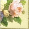แนวภาพดอกไม้ ช่อดอกกุหลาย กระดาษแนพกิ้นสำหรับทำงาน เดคูพาจ Decoupage Paper Napkins เป็นภาพเต็มแผ่น ขนาด 25X25 ซม