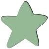 สีเขียว English Box สีอะคริลิคสำหรับงานศิลปะ เพ้นท์ เดคูพาจ Acrylic Color สูตรน้ำ