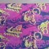 สีชมพู ลายจักรยาน