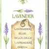 แนวภาพดอกไม้ ผลิตภัณฑ์เกี่ยวกับลาเวนเดอร์ ช่อสีม่วง บนพื้นครีม เป็นภาพ 8 บล๊อค กระดาษแนพคินสำหรับทำงาน เดคูพาจ Decoupage Paper Napkins ขนาด 21X22cm