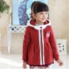 Huanshu kids เสื้อกันหนาวแฟชั่นเด็กสีแดง เก๋มาก น่ารักสไตล์เกาหลี ( ผ้าหนา )