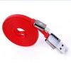 สายชาร์จสำหรับแอนดรอยด์ Remax Cable USB สีแดง