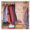 GH123 ถุงสูญญากาศ สำหรับเก็บเสื้อผ้า แบบไม่มีลาย สามารถแขวนได้ ป้องกันฝุ่น กันแมลง ประหยัดเนื้อที่ในการจัดเก็บ สำเนา