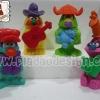 1995 McDonald's แมคโดนัลด์ ของเล่น ของสะสม Happy Meal Muppet Workshop เจ้าหุ่นมหาสนุก อยู่นอกแพ็คค่ะ