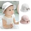 ฺฺBB036 หมวกปีก สำหรับเด็กผู้หญิง สามารถพลิกใส่ได้สองด้าน มีสองลาย มาพร้อมเข็มกลัดโบว์ 2 ชิ้น สวยน่ารักมากคะ