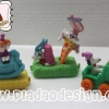 1994 McDonald's แมคโดนัลด์ ของเล่น ของสะสม Happy Meal Happy Birthday : กระต่ายน้อย Looney Tunes บนรถโยก นอกแพ็คค่ะ