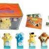 ตุ๊กตาหุ่นมือสัตว์ป่า(1 เซ็ต มีหุ่น 6 ตัว )