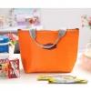 GB077 กระเป๋าผ้าใส่ของอาหาร ของกิน กับข้าว ร้อน-เย็น เก็บรักษาอุณหภูมิ
