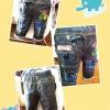 กางเกงเด็กเทห์ๆ สไตล์เกาหลี (สำหรับเด็กอายุ 6 เดือน-4 ขวบ)