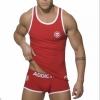 เสื้อกล้าม SLIM FIT : สีแดง