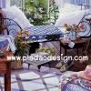 กระดาษสาพิมพ์ลาย rice paper สำหรับทำงาน handmadeเดคูพาจ Decoupage แนวภาพ บ้านและสวน ห้องนอนสวยๆ ปูพื้นด้วยไม้กระดาน แต่งด้วยต้นไม้ ดูอบอุ่น เก๋เก๋ (ปลาดาวดีไซน์)