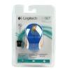 Logitech Wireless Mini Mouse M187 Blue/White