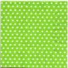 แนวภาพลายแต่ง จุดขาวเล็กบนพื้นเขียว ภาพโทนสีเขียว เป็นภาพกระจายเต็มแผ่น กระดาษแนพกิ้นสำหรับทำงาน เดคูพาจ Decoupage Paper Napkins ขนาด 33X33cm