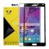 ฟิล์มกระจกนิรภัย Samsung Note 4 เต็มจอ ยี่ห้อ Diamond สีดำ