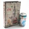 กล่องเก็บของทรงหนังสือแนววินเทจ ขนาดเล็ก S ลาย Love My London