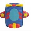 กระเป๋าเป้เด็ก NADO รูปแมลงปอ วัสดุเป็นหนัง PU เนื้อนิ่ม สีสันสดใส