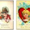 กระดาษเดคูพาจพิมพ์ลาย สำหรับทำงาน เดคูพาจ Decoupage งานฝีมือ งาน Handmade แนวภาพ ภาพวาดกามเทพน้อย แบบวินเทจ vintage My Valentine จอมโจรทารกน้อยขโมยหัวใจมาให้คุณ กะ คิวปิดสาวผมทอง pladaodesign