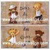 กระดาษเดคูพาจพิมพ์ลาย สำหรับทำงาน เดคูพาจ Decoupage งานฝีมือ งาน Handmade แนวภาพ น้องหมี เท็ดดี้ แบร์ teddy bear 4 ฤดู มากัน 4 หมี 4 สไตล์ น่ารักมาก (pladao design)