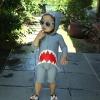 ชุดว่ายน้ำเด็กทารกความสูง 70-120ซม. ลายปลาฉลาม แขนยาว ขายาวถึงเข่า มีฮู้ดเป็นรูปปากฉลามน่ารักมากๆค่ะ