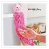 GK092 ผ้าขนหนูดูดซับน้ำได้ดี สำหรับแขวนเช็ดมือ