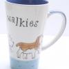 แก้วกาแฟทรงสูง ลาย Walkies เจ้าหมาเดินพาเหรด Whittard of Chelsea