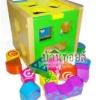การเล่นหยอดบล็อก (Sorting blocks) ของเล่นมีประโยชน์