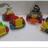 1993 McDonald's แมคโดนัลด์ ของเล่น ของสะสม Happy Meal Looney Tunes Quack-up Cars ออกเมื่อ เมษายน 1993 อยู่นอกแพ็คค่ะ