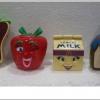 1993 McDonald's แมคโดนัลด์ ของเล่น ของสะสม Happy Meal Food Fun-damentals ออกเมื่อ มีนาคม 1993 อยู่นอกแพ็คค่ะ