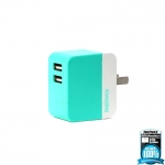 Remax แท้100% Adapter 3.1A RM - 6288 Green