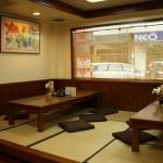 โต๊ะญี่ปุ่นไม้จริง สำหรับร้านอาหาร ร้านกาแฟ ร้านไอศกรีม
