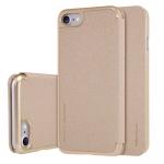 เคสฝาพับ Iphone 7 nillkin Sparkle Leather Case สีทอง