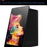 "Alldocube X1 4G แท็บเล็ตโทรได้ 8.4"" 2560 x 1600 Android 7.1 helio x20 MTK6797 Deca Core 4GB RAM 64GB ROM (สีดำ)"