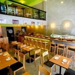 เก้าอี้ดีไซน์สวย สไตล์ญี่ปุ่น เหมาะสำหรับแต่งร้านอาหาร ร้านกาแฟ