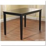 โต๊ะไม้จริง ขนาด 75x120xh75 ซม. (รับสั่งทำโต๊ะตามขนาด)